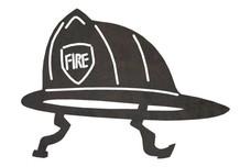 Fireman's Helmet DXF File