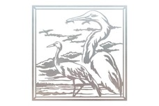Herons Wall Art