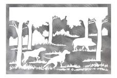 Hog Hunting Wall Art