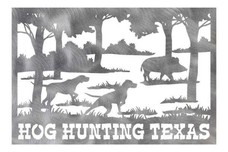 Hog Hunting Wall Art