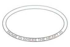 Home Oval Insert