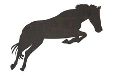 Leaping Horse DXF File