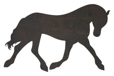 Standing Horse DXF File