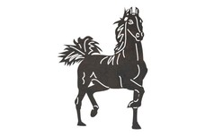 Strolling Horse DXF File