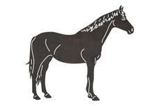 Horse's SideDXF File