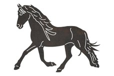 Galloping Mare DXF File