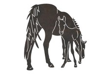 Mare and Foal DXF File