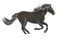 Tail and Mane DXF File