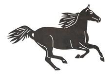 Dancing Horse DXF File