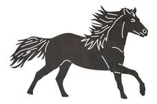 Graceful Graceful Horse DXF File