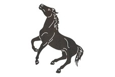 Standing-Up Horse DXF File
