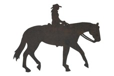 Cowgirl On A Horse DXF File