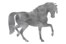 Bowing Horse DXF File