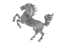 Horse Rearing DXF File