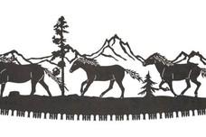 Horses Crosscut Sawblade