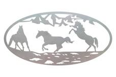 Horses Oval Insert