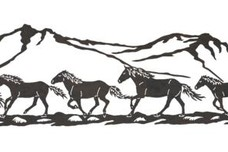 Team of Horses DXF File