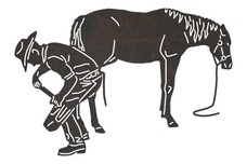 Horseshoeing Farrier DXF File