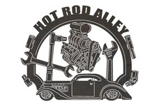 Hot Rod Alley Sign