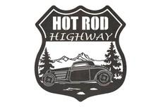 Hot Rod Highway Sign