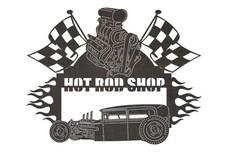 Hot Rod Sign