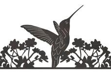Hummingbird Driveway Topper