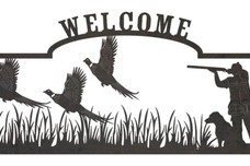 Hunter Welcome Sign