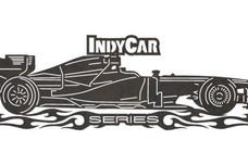 Indy Car Sign
