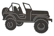 Jeep Wrangler DXF File