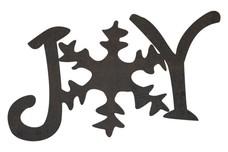 Joy Snowflake Joy DXF File