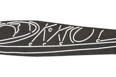 Kayak Leaning_Sideways DXF File