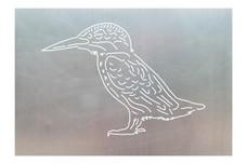 Kingfisher Bird DXF File