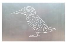Bird Kingfisher DXF File