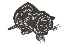 Hunting Kitten DXF File