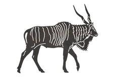 Walking Kudu DXF File