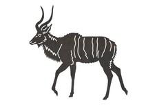 Greater Kudu DXF File