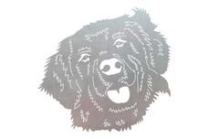 Labrador Head Stock Art
