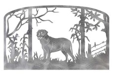 Labrador Retriever Fireplace Screen