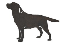 Air-Sniffing Labrador Retriever DXF File