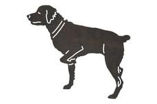 Labrador Retriever Side-Profile DXF File