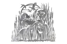 Two Labradors DXF File