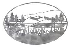 Lake Scene Oval