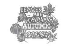 Leaves Are Falling Wall Art
