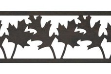 Leaves Fence Topper