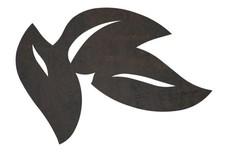 Clustered Leaves DXF File