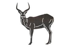 Lechwe Antelope DXF File