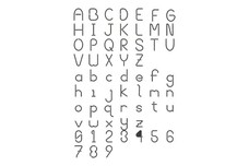 Letters And Numbers Stock Art