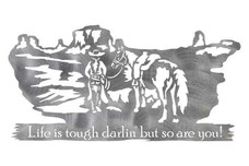 Life Is Tough Phrase DXF File