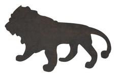Male Lion Silhouette DXF File