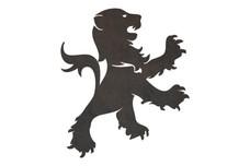 Lion Badge DXF File